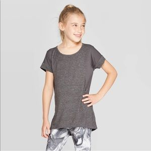 🌿Girls gray athletic t-shirt